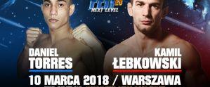 Daniel Torres będzie przeciwnikiem Kamila Łebkowskiego na FEN 20 ''Next Level''