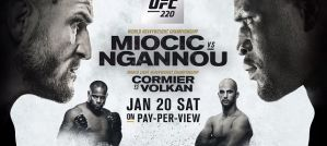 UFC 220 Miocic vs Ngannou - Wyniki