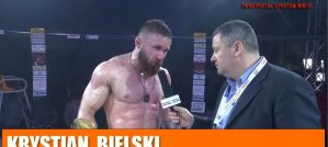 Krystian Bielski po zwycięstwie w walce wieczoru na DFN 3! Wywiad!
