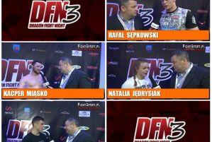 Rafał Sępkowski, Kacper Miąsko, Natlia Jędrysiak i Arkadiusz Keller po DFN 3! Wywiady!