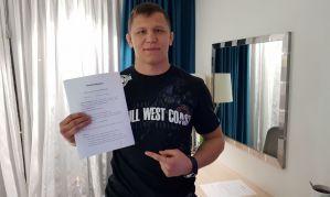 Daniel Skibiński zasila szeregi Babilon MMA i wystąpi na gali w Radomiu