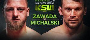 David Zawada zmierzy się z Michałem Michalskim na KSW 43 we Wrocławiu