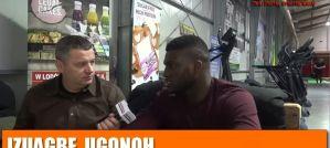 Izuagbe Ugonoh o trudnej dordze z kickboxingu do boksu! Wywiad!