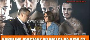 Karolina Owczarz: Z Pauliną wyjaśniłyśmy już wszystko! Wywiad po KSW 42!