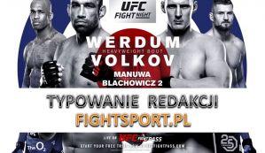 UFC Fight Night 127 Werdum vs Volkov: typowanie Redakcji!