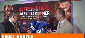 Pavel Obozny zwyciężył w walce na DSF Kickboxing Challenge 14! Wywiad!
