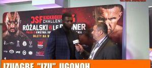 Izuagbe Ugonoh o gali DSF Kickboxinb Challenge 14! Wywiad!