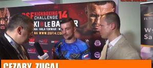 Cezary Zugaj po zwycięstwie na DSF Kickboxing Challenge 14! Wywiad!