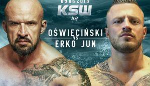 Tomasz Oświeciński zmierzy się na KSW 44 z Erko Jun z Bośni!