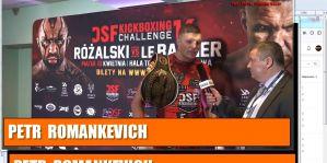 Petr Romankevich drugi broni pasa mistrzowskiego DSF! Wywiad!
