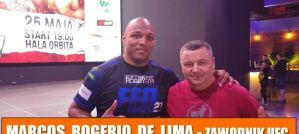 Marcos Rogerio de Lima: Wracam we wrześniu na UFC Sao Paulo! Wywiad!