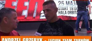 Andrzej Grzebyk przed FEN 21: Damy sobie po mordzie, a później pójdziemy na ...! Wywiad!