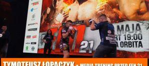 Tymoteusz Łopaczyk przed FEN 21: Bardziej stresuje się rozmowami z dziennikarzami niż walką! Wywiad!