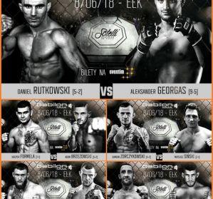 Zapełnia się karta walk gali Babilon MMA 4 w Ełku! Dodane kolejne pojedynki!