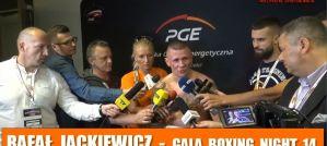 Rafał Jackiewicz: Pobiłem rekord Polski! Mam 475 rund w boksie zawodowym! Wywiad po walce na Narodowej Gali Boksu!