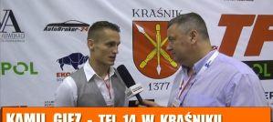 Kamil Giez po TFL 14: Zwycięstwa zawsze cieszą! Wywiad!