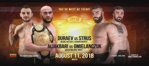 ACB 91 z udziałem Strusa, Omielańczuka, Różańskiego i Saidova! Zapowiedź video!