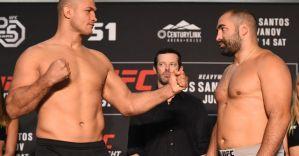 UFC Fight Night 133: Cigano lżejszy od Blagoi'a Ivanova! Wyniki ważenia