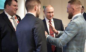 Conor McGregor krytykowany przez amerykańską prasę za spotkanie z Putinem na Mundialu