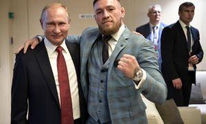 Conor McGregor & Władymir Putin - łączy ich piłka i MMA