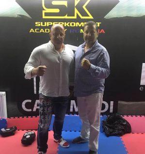 Tajemnicza wizyta prezesa DSF Kickboxing Challenge w SuperKombat Academy w Bukareszcie