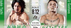 Rizin 12: Yusuke Yachi przegrywa z Luizem Gustavo Felixem w walce wieczoru! Wyniki!