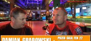 Damian Grabowski przed FEN 22: O walce z Rodrigo Guelke i błędach przeszłości! Wywiad!