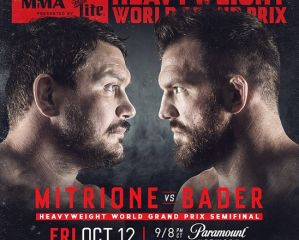 Bellator 207 Mitrione vs Bader - Video
