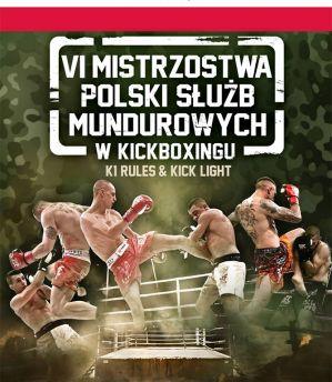 VI Mistrzostwa Polski Służb Mundurowych w Kickboxingu! Wyniki