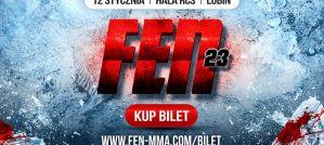 Gala FEN 23 oficjalnie potwierdzona na 12 stycznia!