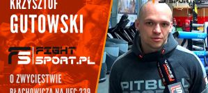 Krzysztof Gutowski o pokonaniu Rockholda: Błachowicz utarł mu nosa i zamknął gębę! Wywiad!
