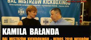 Kamila Bałanda - Zawodniczka Roku 2018 Polskiego Związku Kickboxingu! Wywiad!