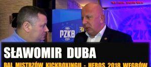 Prezes DSF Sławomir Duba: Sportowo 2018 to był dobry rok! Wywiad!