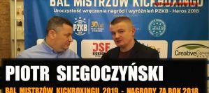 Piotr Siegoczyński podsumowuje rok 2018 w Polskim Związku Kickboxingu! Wywiad!
