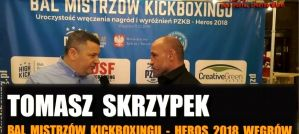 Tomasz Skrzypek: Mój czas w Kadrze K-1 Kickboxingu minął, muszę wygrać swoje życie! Wywiad!