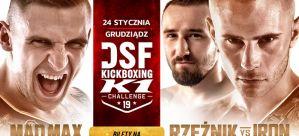 DSF Kickboxing Challenge 19: Ringowa Wojna w Grudziądzu – karta walk kompletna!