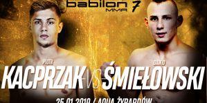 Babilon MMA 7: Kacprzak i Śmiełowski idą za ciosem!