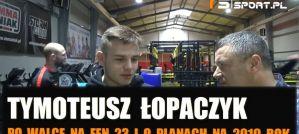 Tymoteusz Łopaczyk po FEN 23: Taka porażka boli, wolałbym zejść po 3 rundach pokonany! Wywiad!