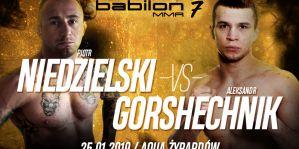 Alexander Gorshechnik przeciwnikiem Piotra Niedzielskiego na Babilon MMA 7