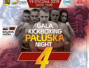 Gala Pałuska Kickboxing Night 4: zwycięstwo Polski nad Bialorusią! Wyniki