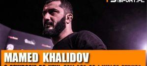 Mamed Khalidov o swoim powrocie do KSW, gali ACA 92, walce Strusa! Wywiad!