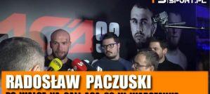 Radosław Paczuski po ACA 92: Niewiele brakowało do nokautu! Wywiad!