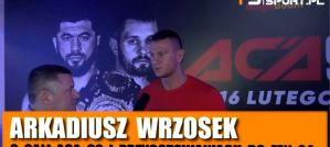 Arkadiusz Wrzosek o Patricku Schmidzie na FEN 24, dopingu w Kickboxingu, Glory i DSF! Wywiad!