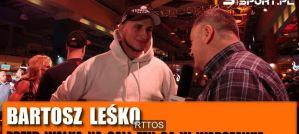 Bartosz Leśko przed FEN 24: Zrobię wszystko by wykorzystać tę szansę! Wywiad!