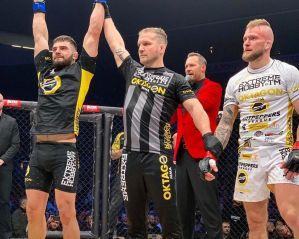 Zwycięstwo Mateusza Legierskiego i porażka Pawła Brandysa na Oktagon 11 w Czechach! Video