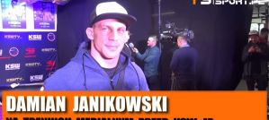 Damian Janikowski przed KSW 47: Jestem bardziej poukładany niż rok temu! Wywiad!