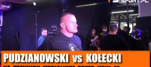 Mariusz Pudzianowski i Szymon Kołecki przed KSW 47 na media treningu! Wywiady!