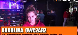 Karolina Owczarz przed KSW 47: Czuję się świetnie i nie mogę doczekać się walki! Wywiad!