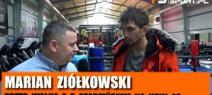 Marian Ziółkowski o starciu z Gracjanem Szadzińskim na KSW 48 i wydarzeniach MMA! Wywiad!