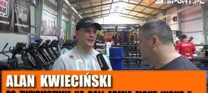 Alan Kwieciński o wygranej w K-1, FAME MMA, trenowaniu Marty Linkiewicz! Wywiad!